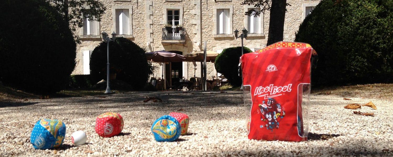KoolBool le jeu de boules en tissu pour la maison
