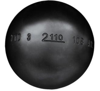 Boule de pétanque MS 2110 anti rebond