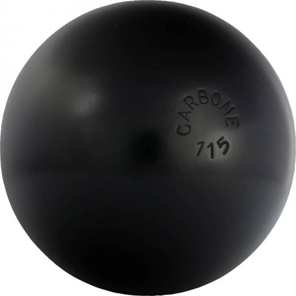 Boule bleue carbone tendre acier carbone 115 for Poids boule de petanque