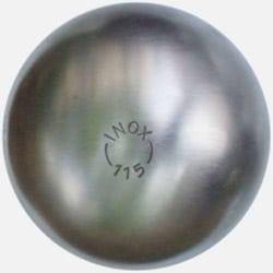 boule de petanque acier inox tendre 115 de la boule bleue