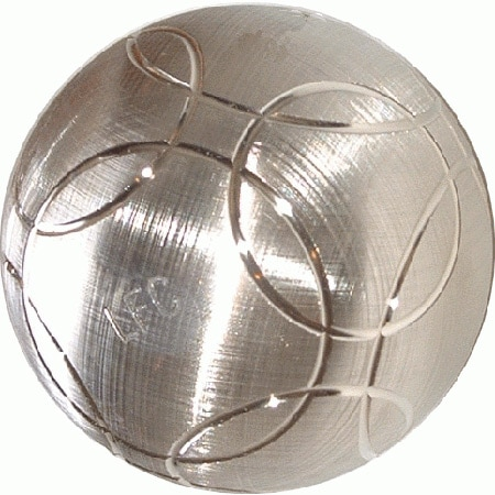 boule de petanque en bronze futura striée LFC