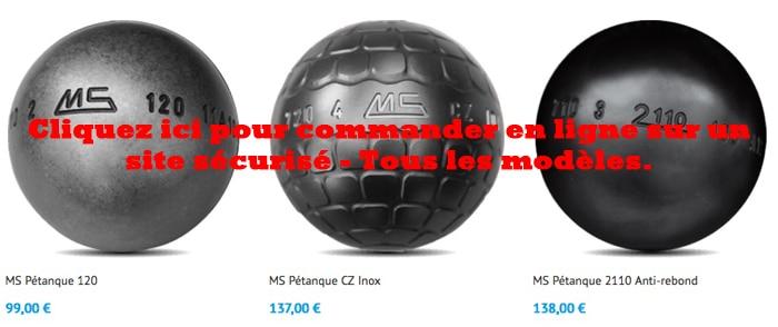 ms petanque les boules de p tanque ms. Black Bedroom Furniture Sets. Home Design Ideas