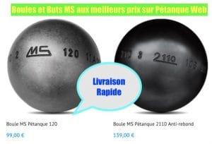 boutique boules MS Pétanque