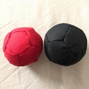 boules de pétanque d'intérieur en tissu